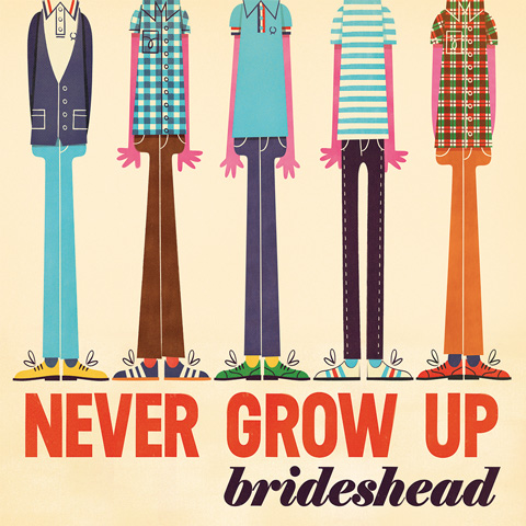 dcr518 brideshead lp never grow up