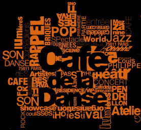 France, Paris, Cafe de la danse